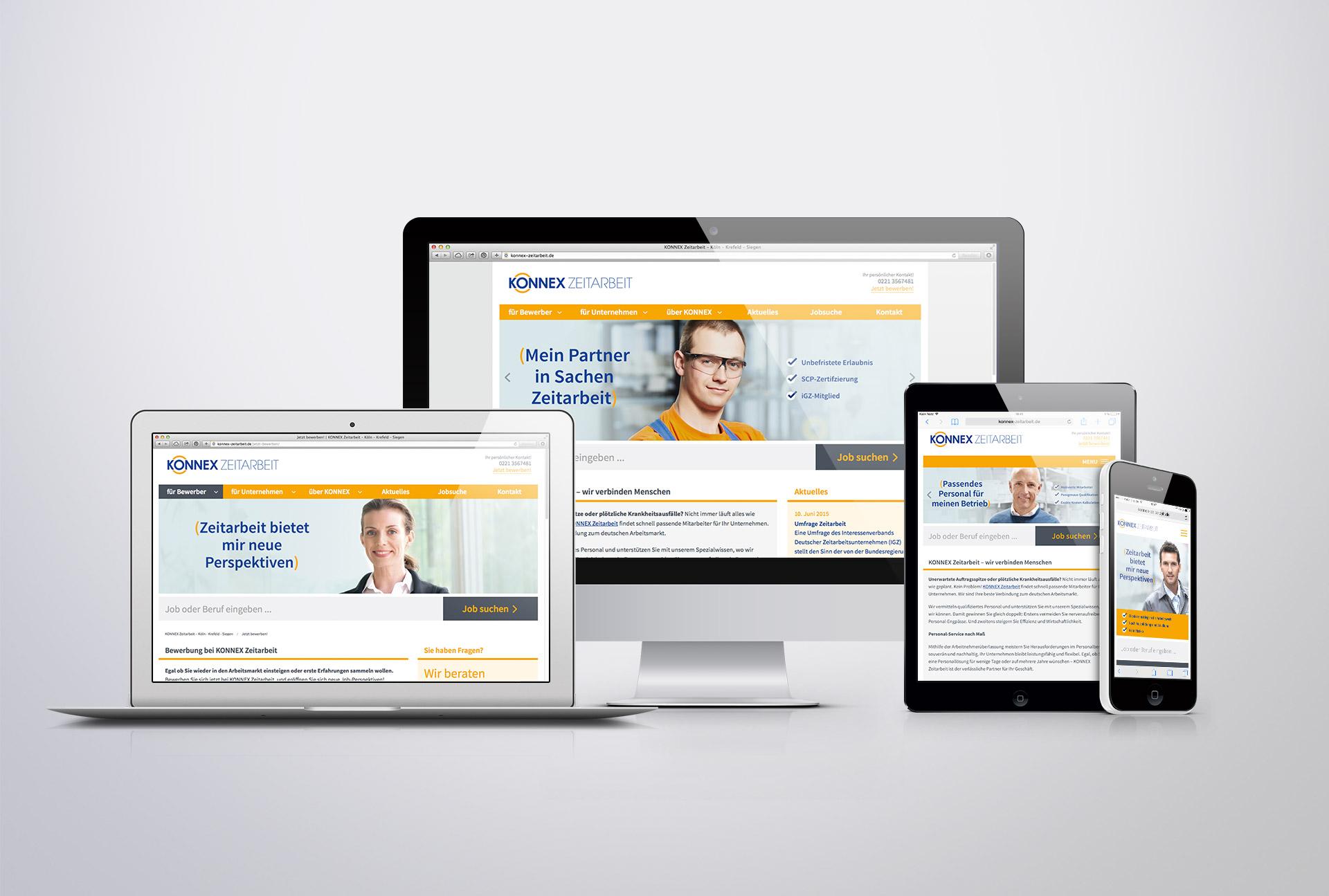 Diegutgestalten Webdesign Duesseldorf Konnex 1 Designagentur